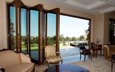 AG Millworks Folding Patio Doors