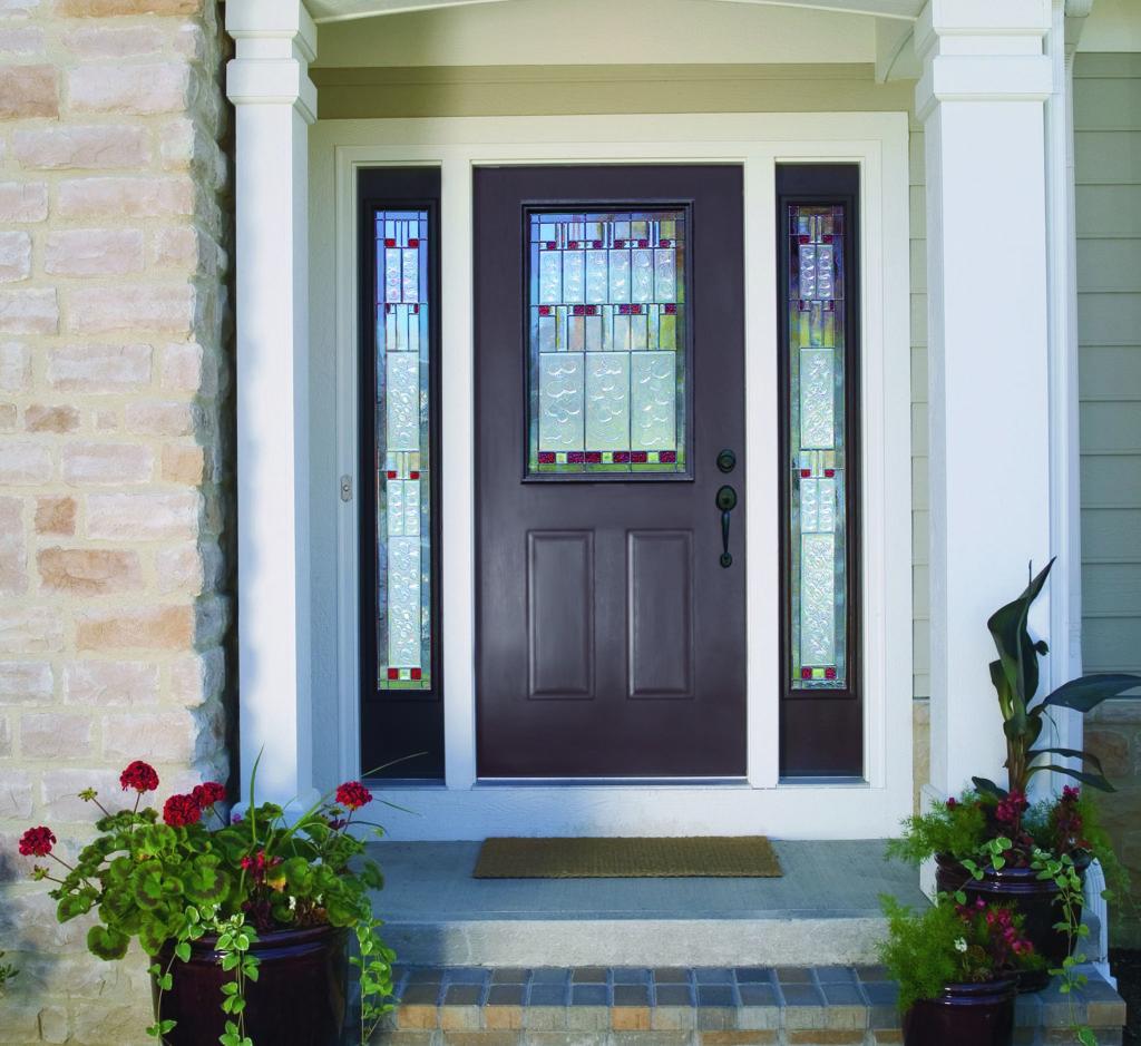 Steel or Fiberglass Front Entry Doors | Which door is dest ... |Therma Tru Fiberglass Exterior Doors