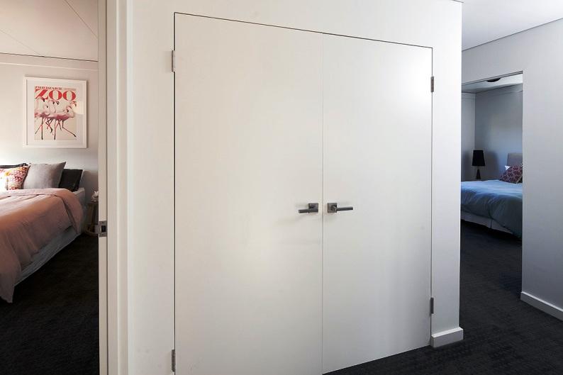 EZYJamb Trimless Linen Closet