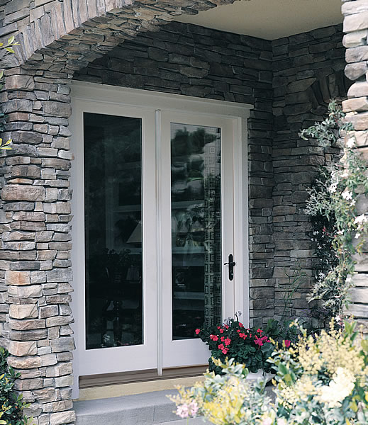Fiberglass Hinged Patio Doors : Therma tru builders direct supply