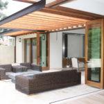 AG Millworks Bi-fold patio doors