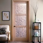 Trustile Door In Maple With Fossil Resin