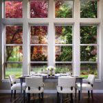 Window Wall Dining Room
