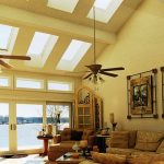 Living Room White Fans
