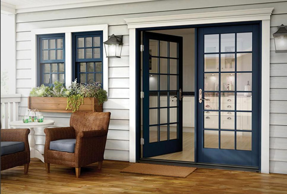 Milgard Essence Swing Doors & Blog - Builders Direct Supply